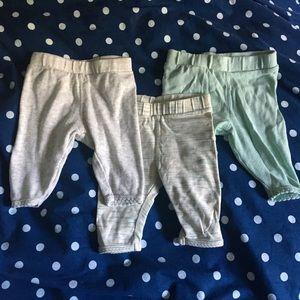 Set of 3 H&M Baby Leggings